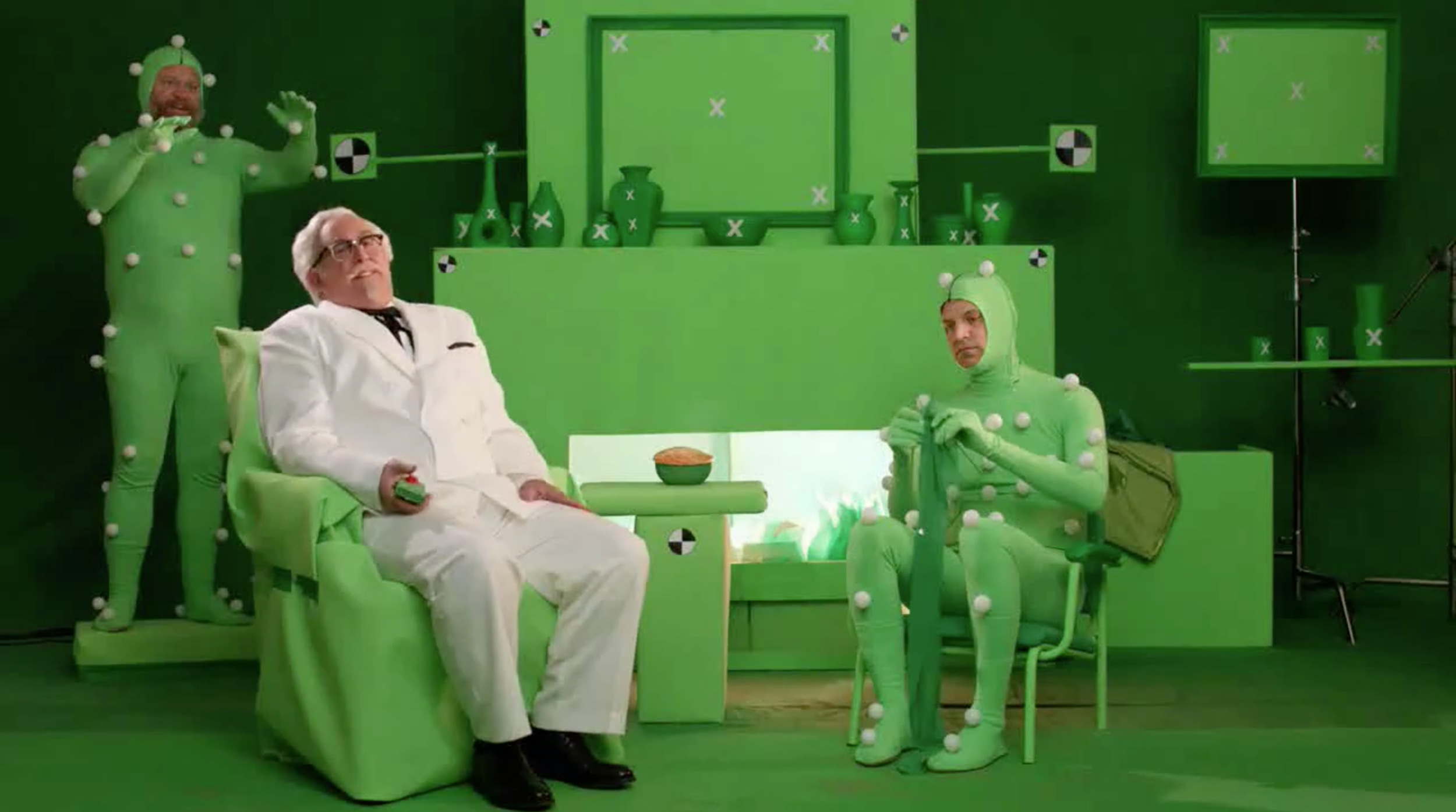 best green screen use for commercial - kfc