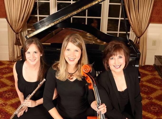 Flutist Allison Gioscia; Emma Patterson Cellist; Sharon Skidgel pianist.