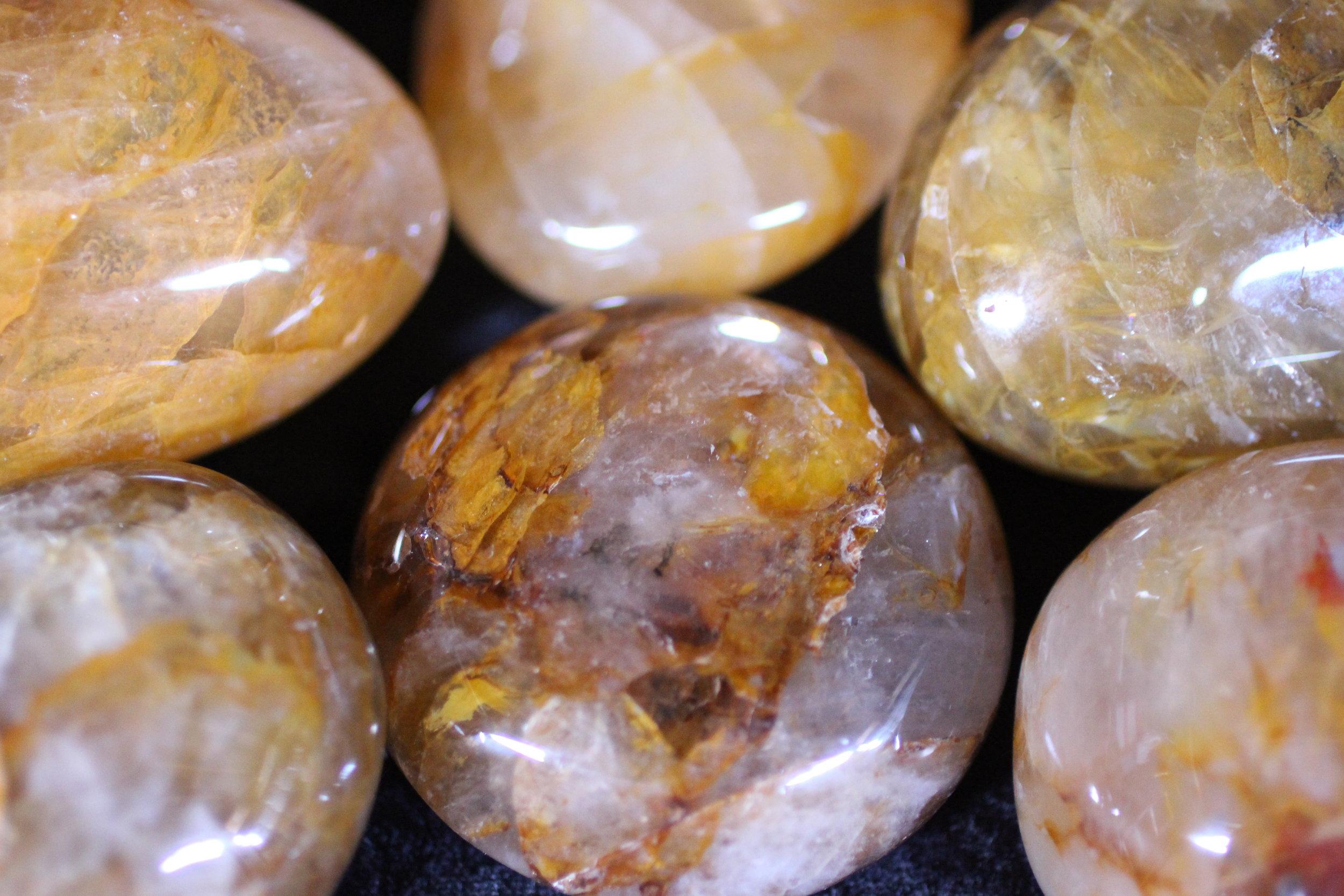 Golden Healers Polished from Madagascar
