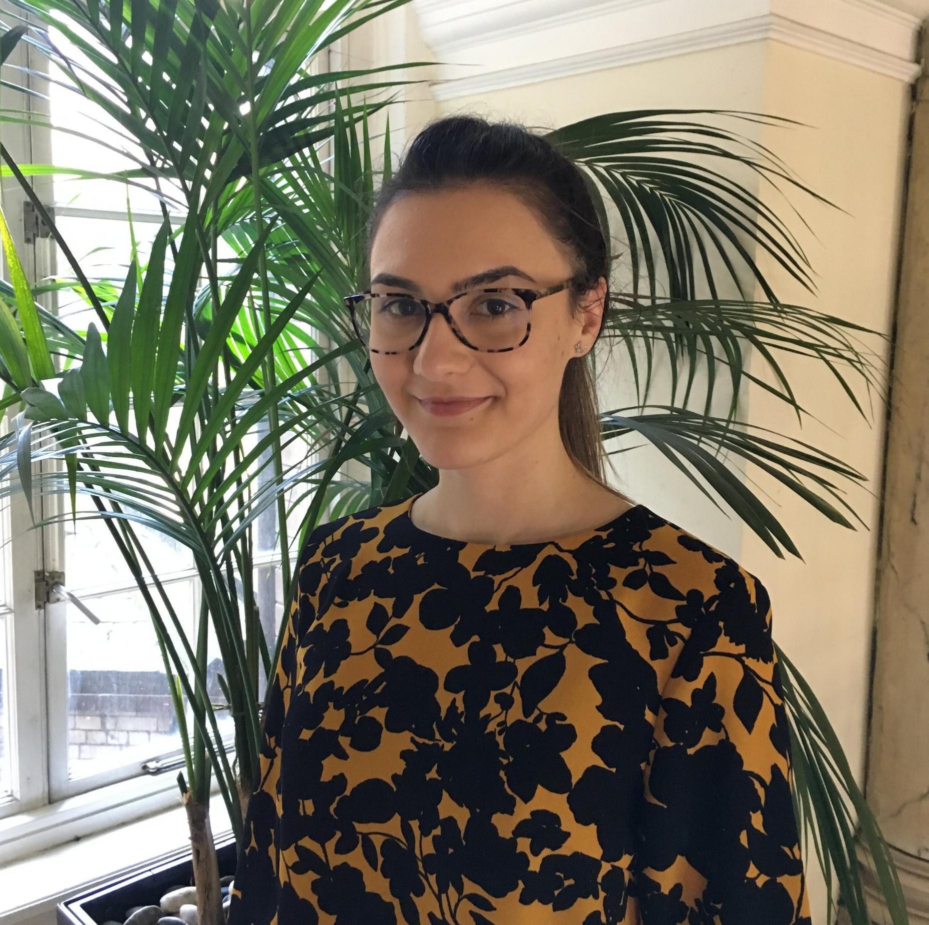 Gabriela Simion, Social Media & Content Marketing Intern