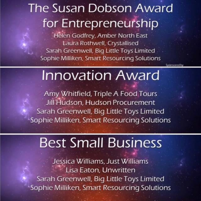 Sophie Milliken WIN Awards