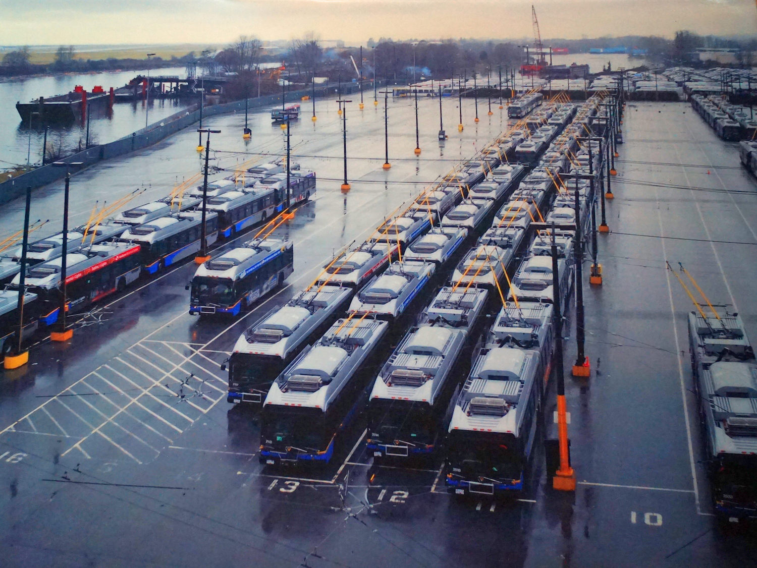 Bus Yard / North Arm, Fraser River, British Columbia