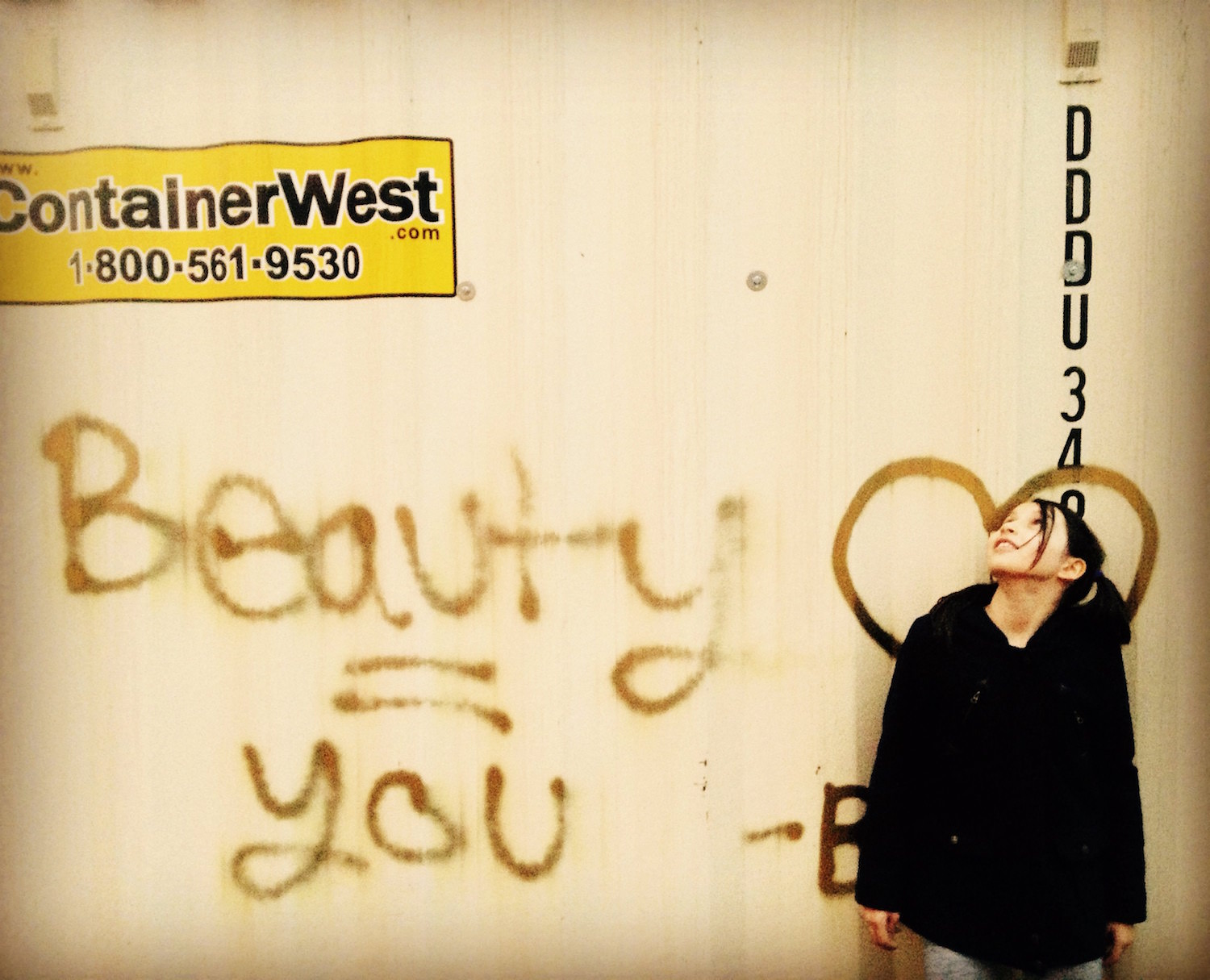 Beauty Equals You / Main Street, Vancouver, British Columbia