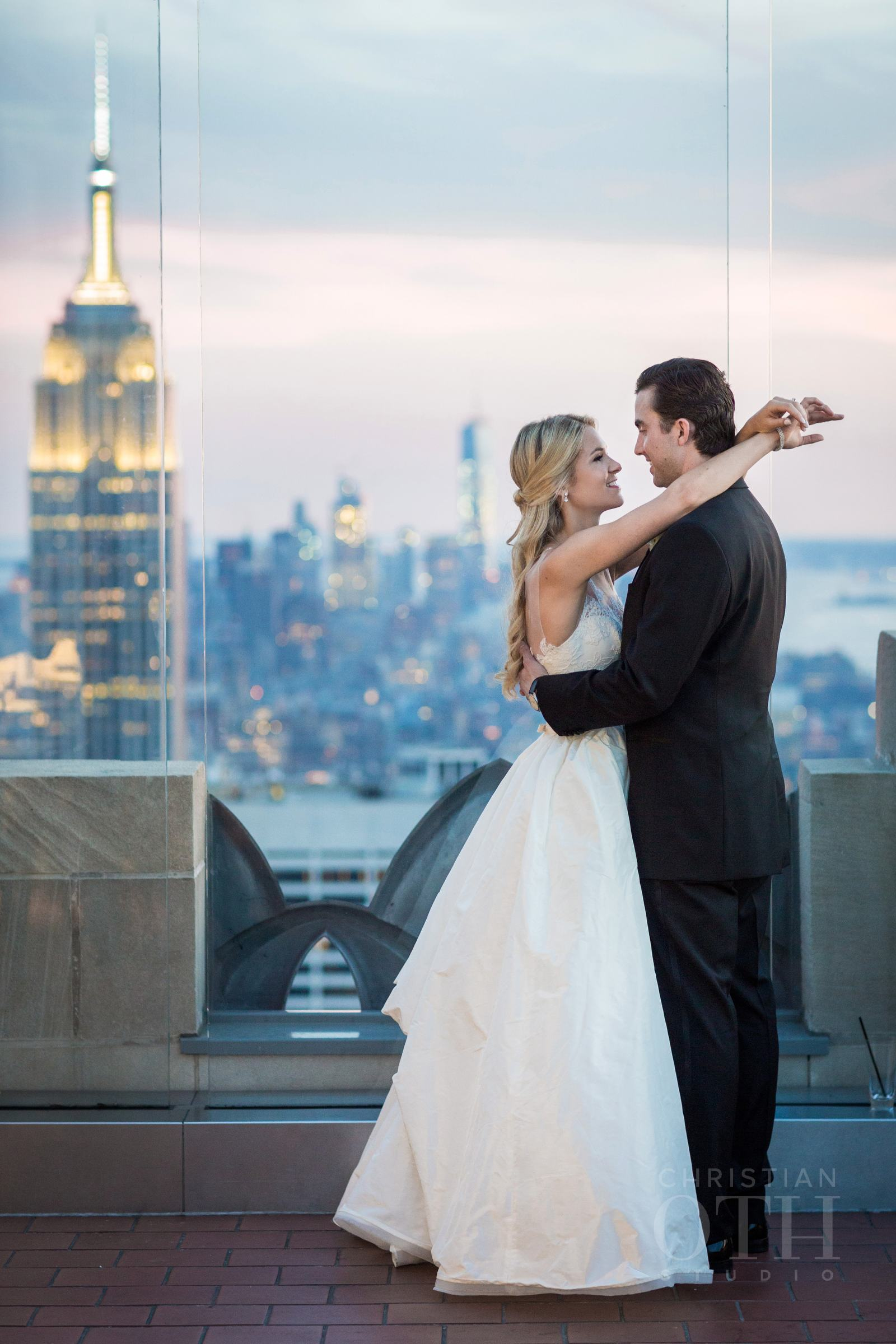 The Rainbow Room has the best views!  Photo by Christian Oth Studio.