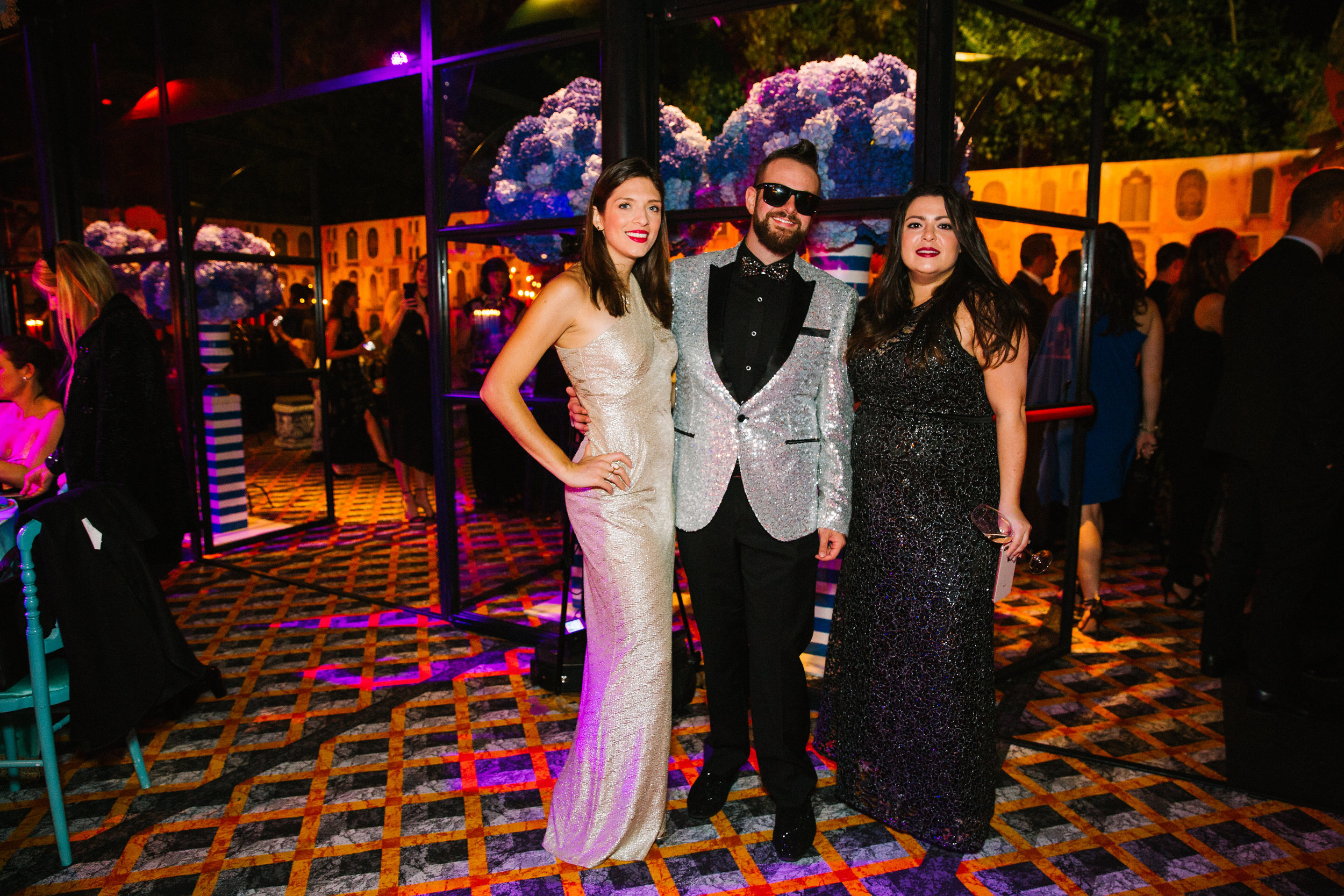 In our opinion, Jordan Kahn had the best tux. Even his shoes were sparkly!  Photo by Betsi Ewing Studio.