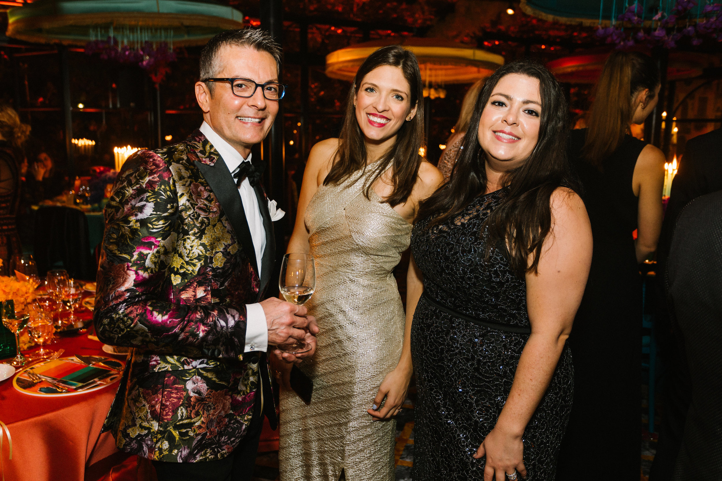 Randy Fenoli also was a bit metallic! Photo by Betsi Ewing Studio.