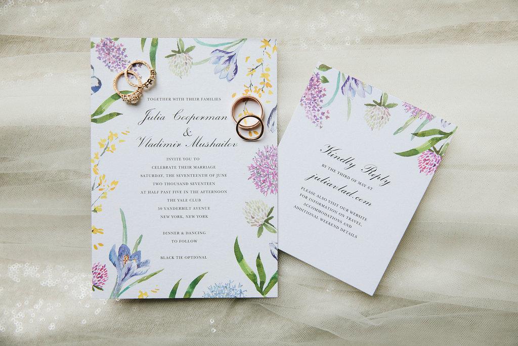 Garden Wedding Invitations. Photo by Sasithon Photography.