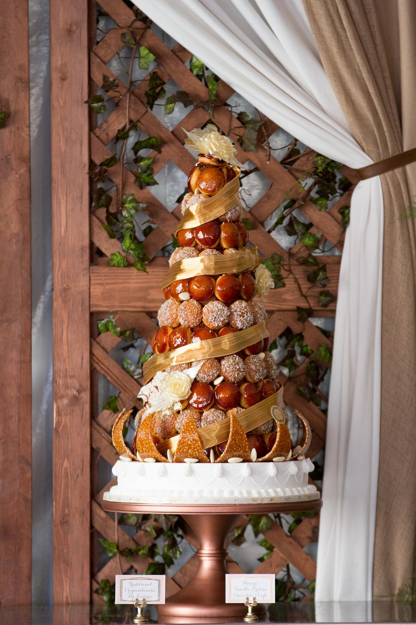 Bridal Shower Croquembouche