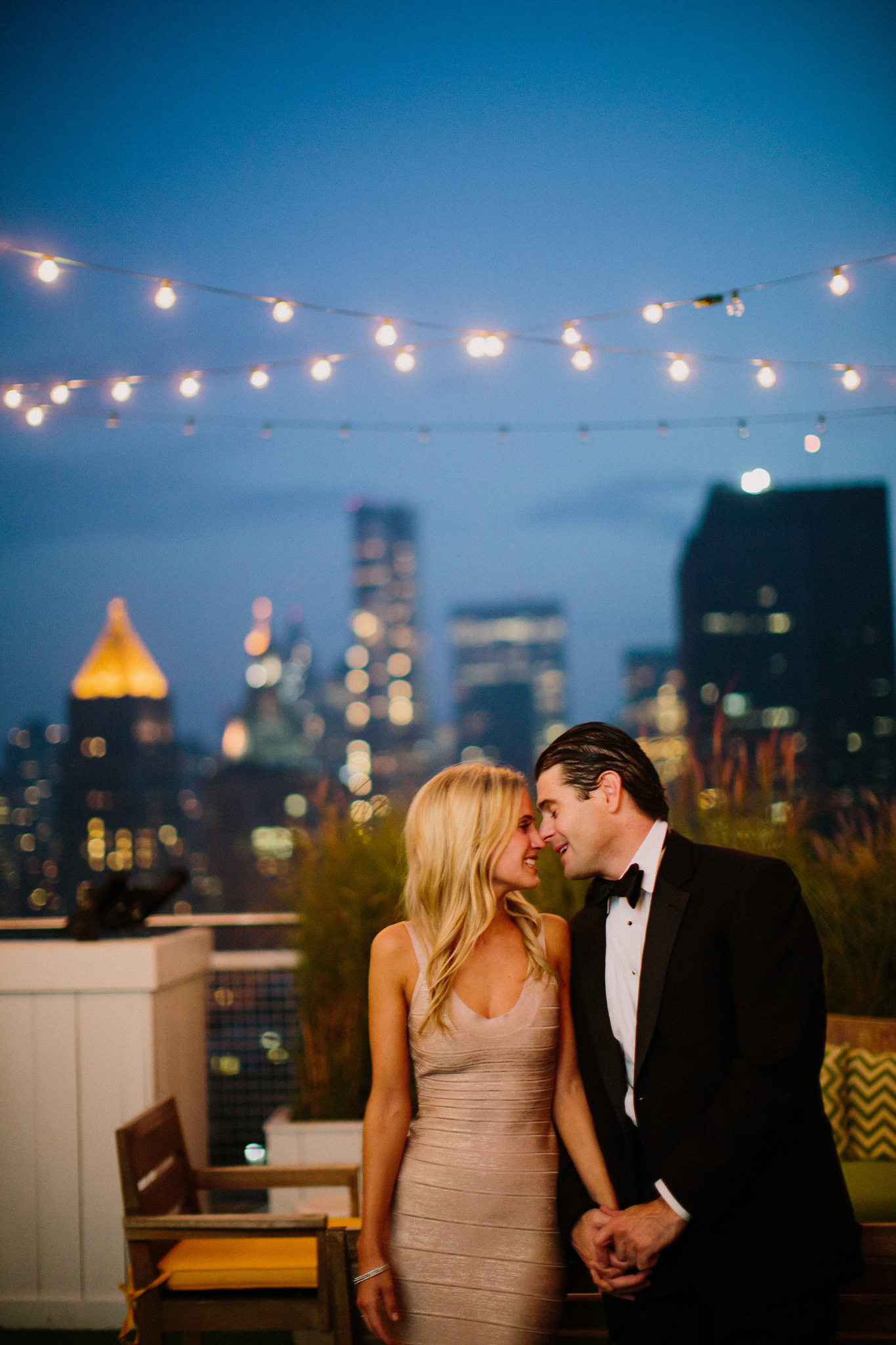 Rooftop Marriage Proposal NYC