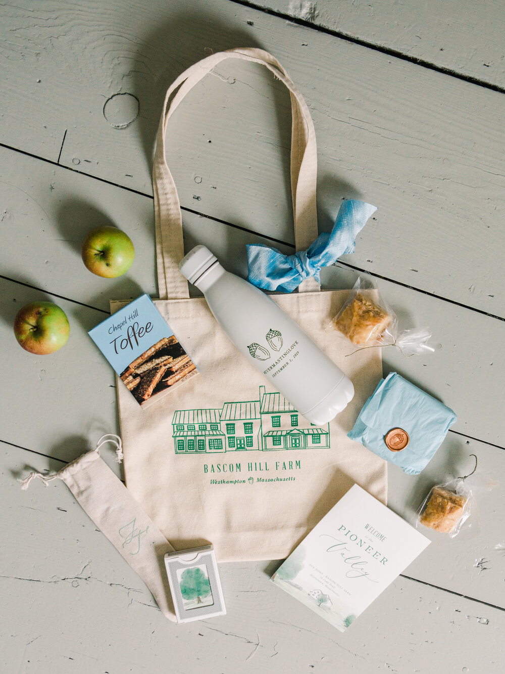 Bets custom wedding welcome bag ideas