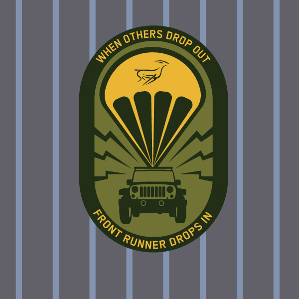 Front Runner Clothing Patches