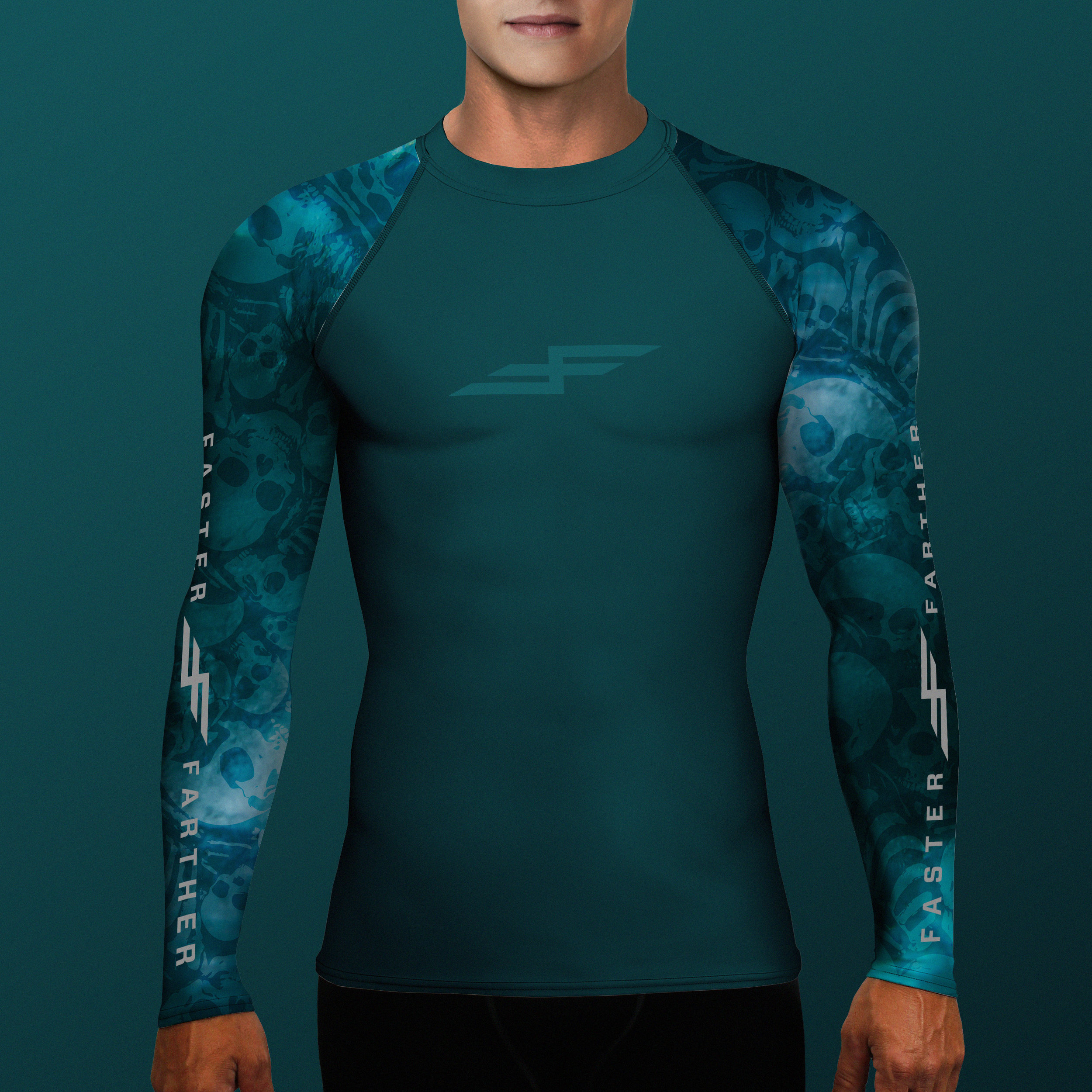 A1MT-009V1-Men'sRashGuard-BoneCollector-AquaShadow-HERO.jpg