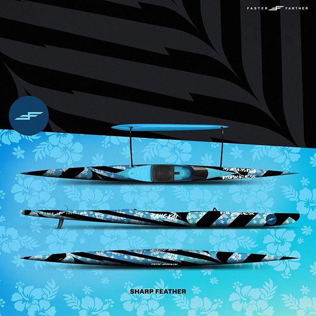 Flight and fight are not mutually exclusive after all... . . . . . . . . . . .#fartherfaster #oc1 #outrigger #paddling #kayaking #downwind #paddlelife #surfski #kayaking #kayak #seakayak #paddler #whitewater #boatart #designinspiration #bellingham