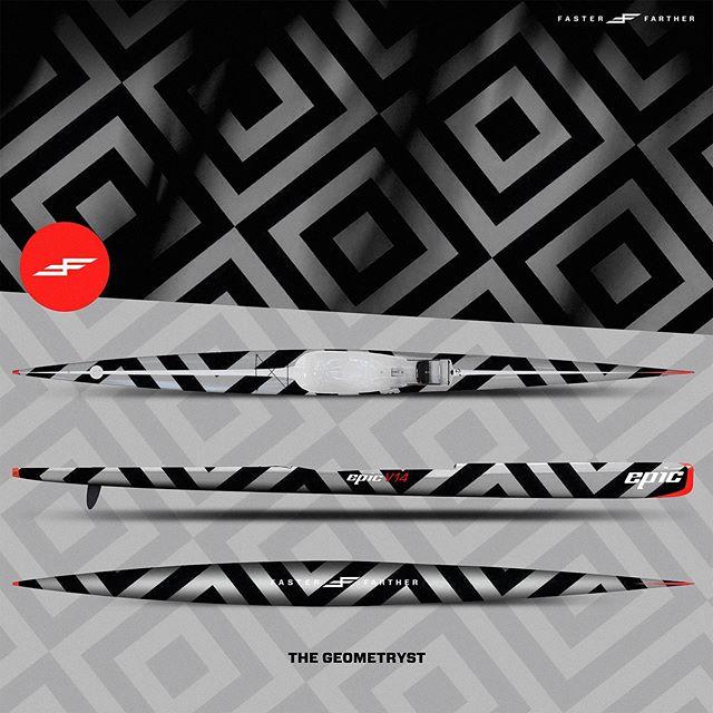 Who says geometry isn't sexy?... . . . . . . . . . .#fasterfarther #geometry #canoesprint #icfsprint #surfski #kayak #kayakart #oceansports #downwind #paddling #paddlelife #justpaddle #outrigger #oc1 #supart #sup #standuppaddle