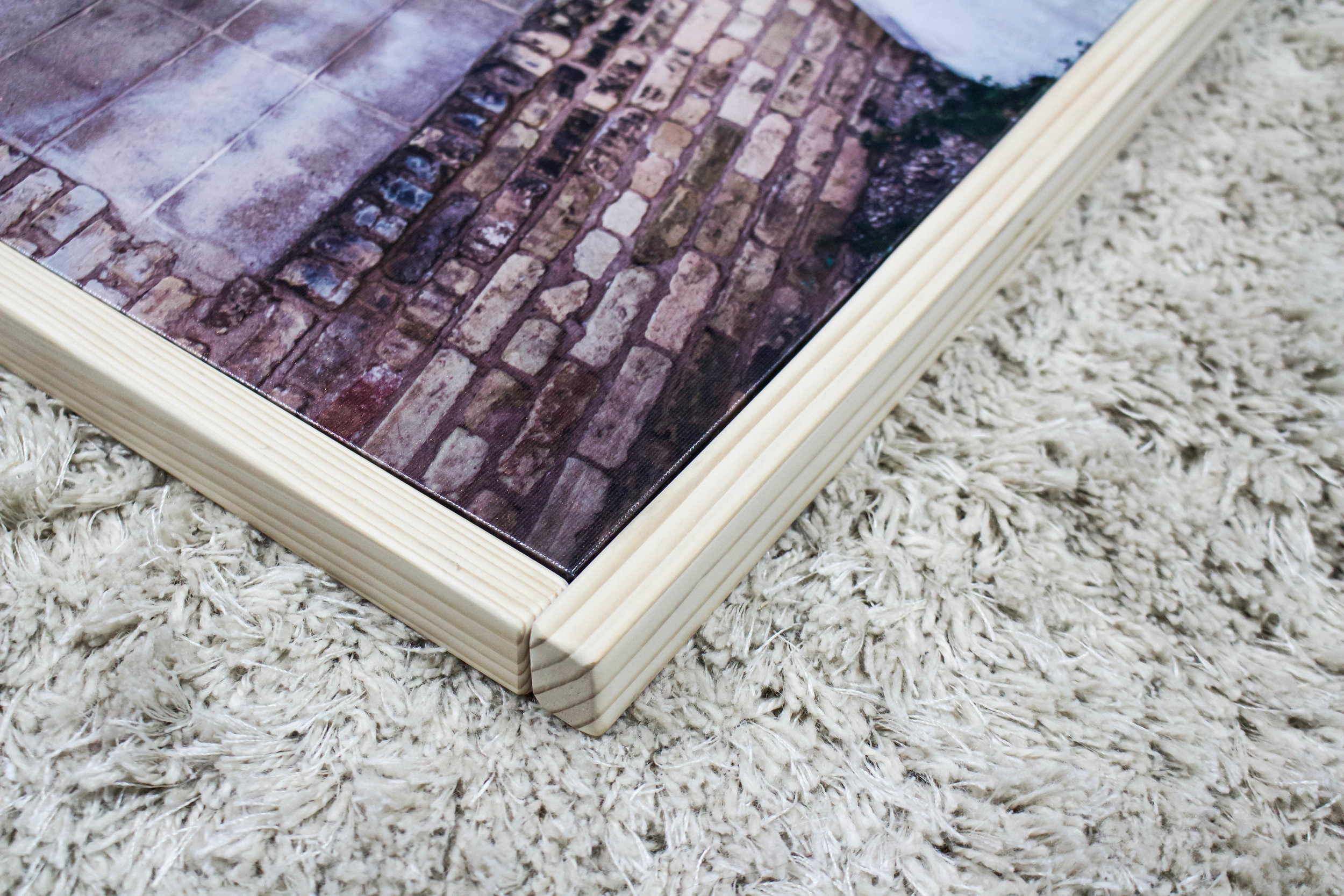 DIY: Framing a canvas