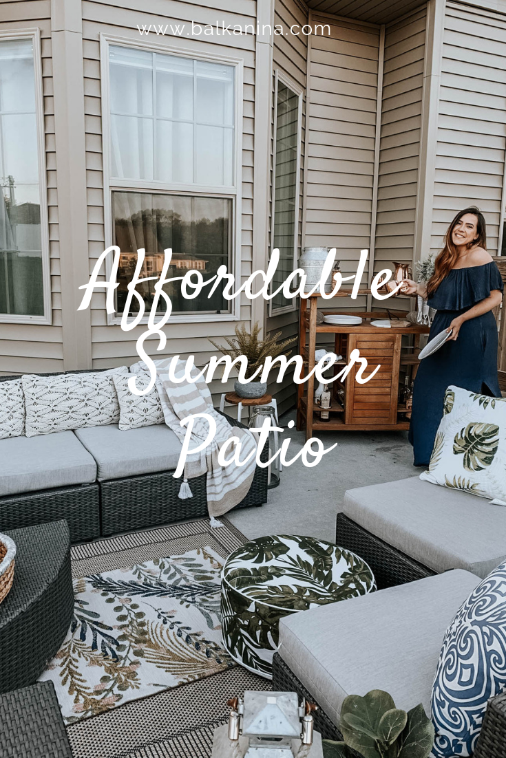 Affordable Summer Patio