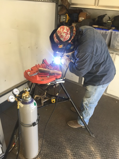 Pipe Support Welding