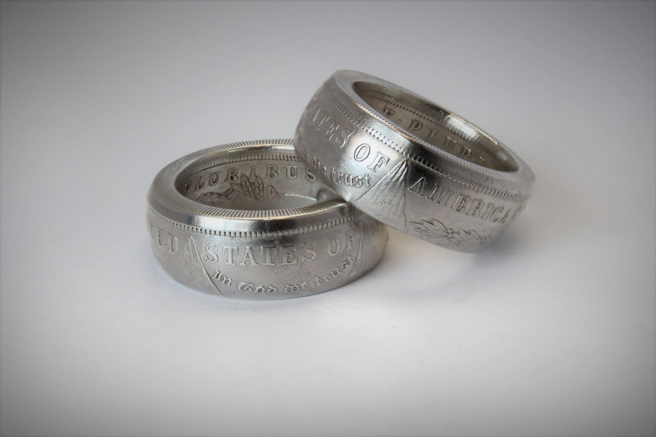Morgan Silver Dollar Coin Ring Stacked.jpg