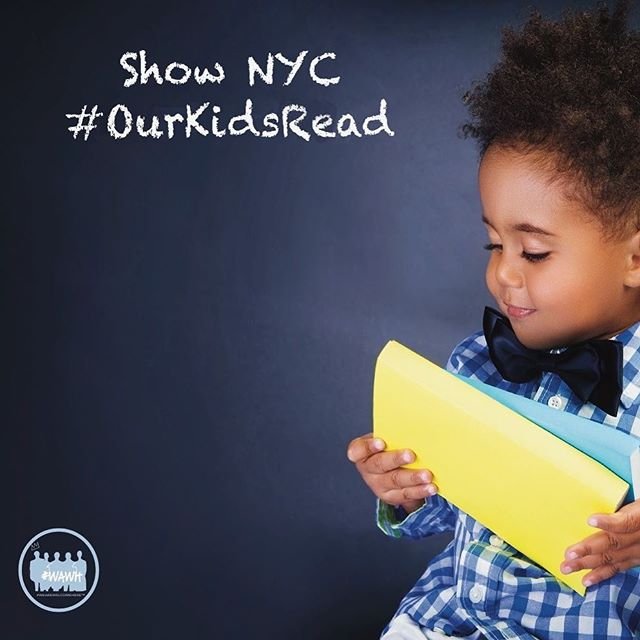 Stop innovating, start doing!  Show NYC #OurKidsRead www.wearewelcomehere.org