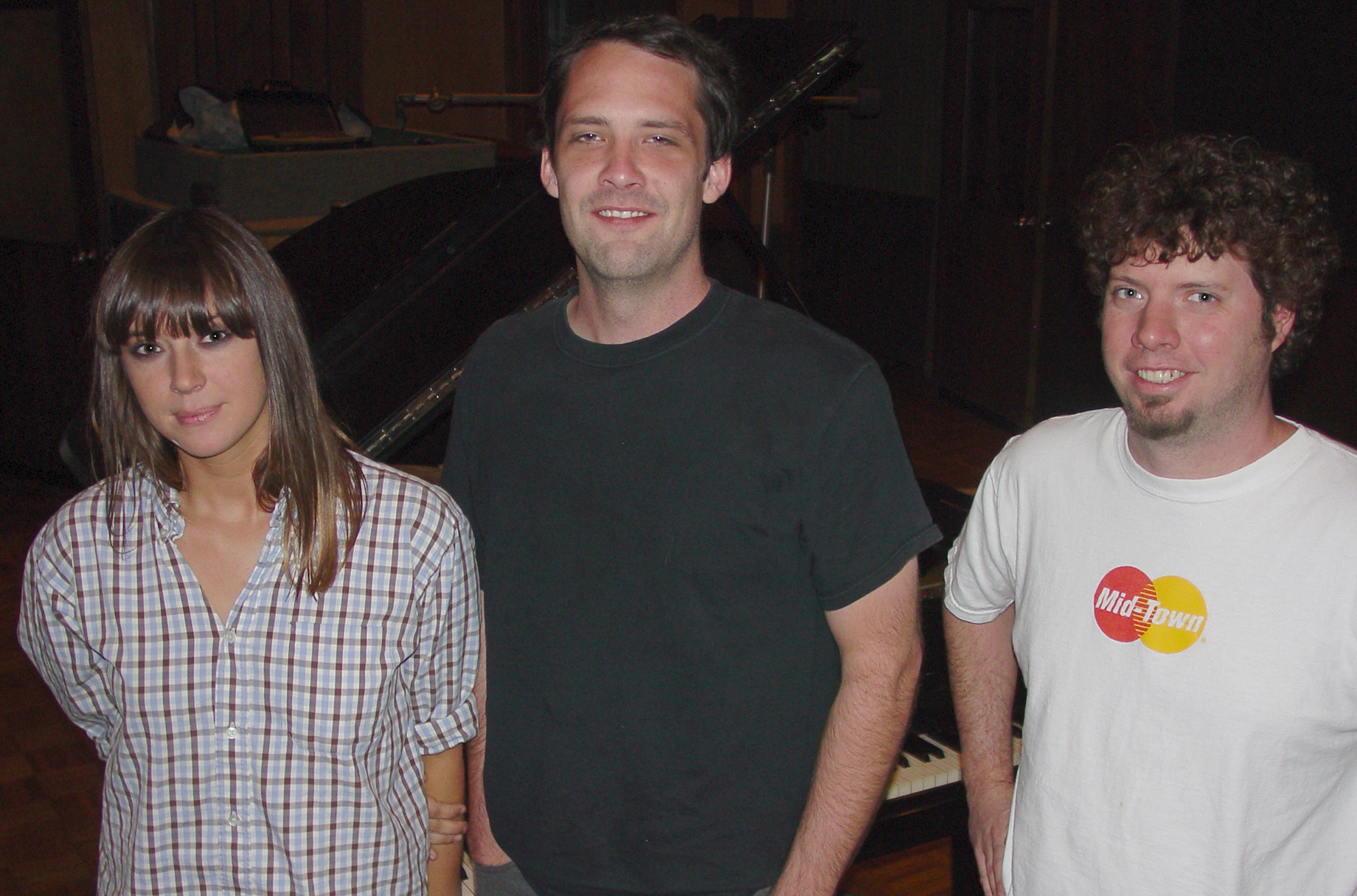 Cat Power and Stuart Sykes with Adam Hill in Studio A