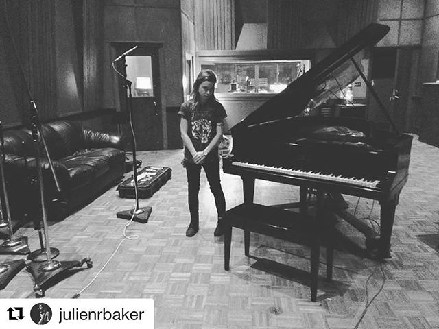 What a way to start our 51st year with some incredible musicians in the studio. Recent signee to @matadorrecords - @julienrbaker has made Studio A her home this week with our own @calvinlauber behind the board!
