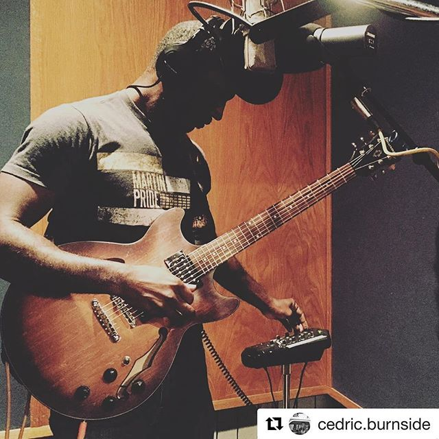 If these first couple weeks of January are foreshadowing the year to come - we'll take it. Tracking in Studio B is GRAMMY nominated @cedric.burnside!