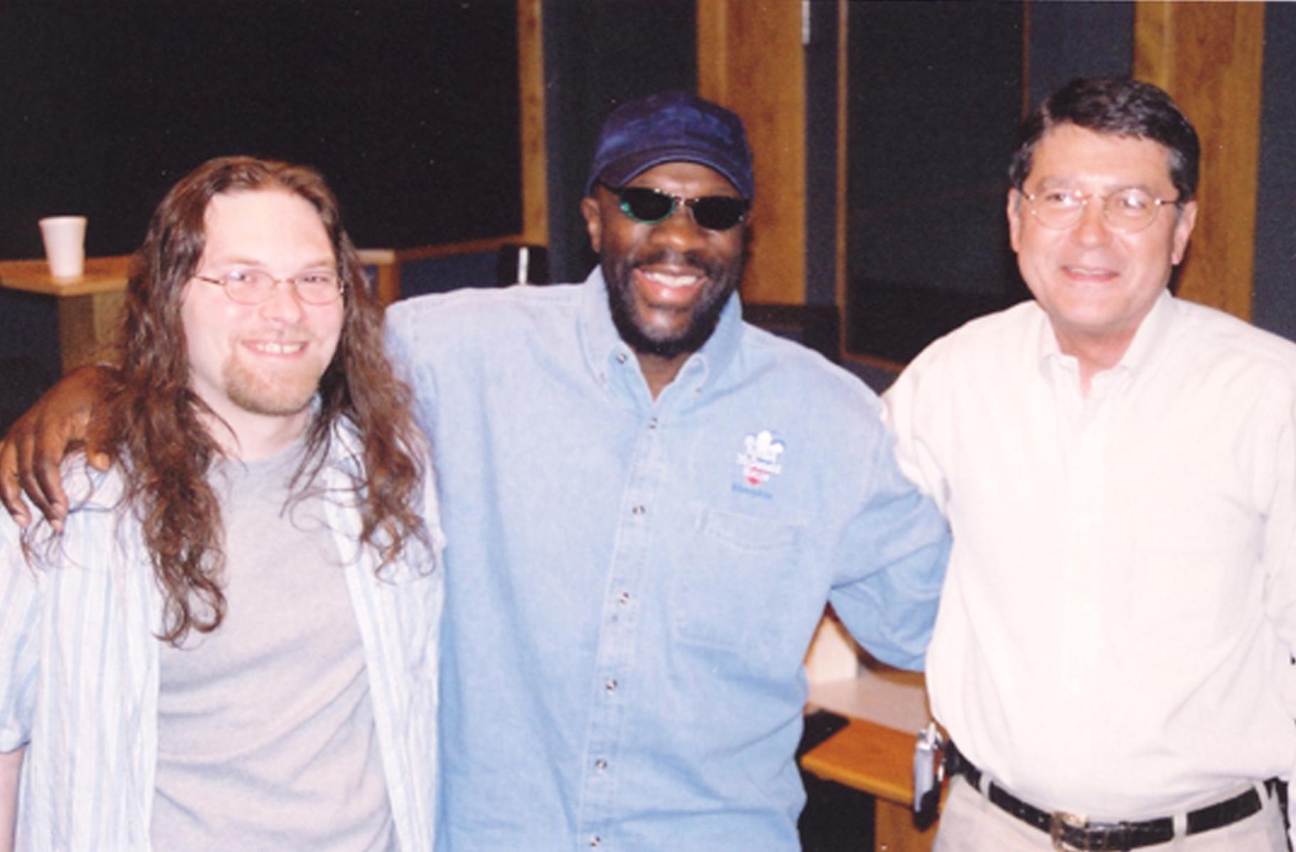 Ardent Studio B: Pete Matthews (engineer), Isaac Hayes, and John Fry