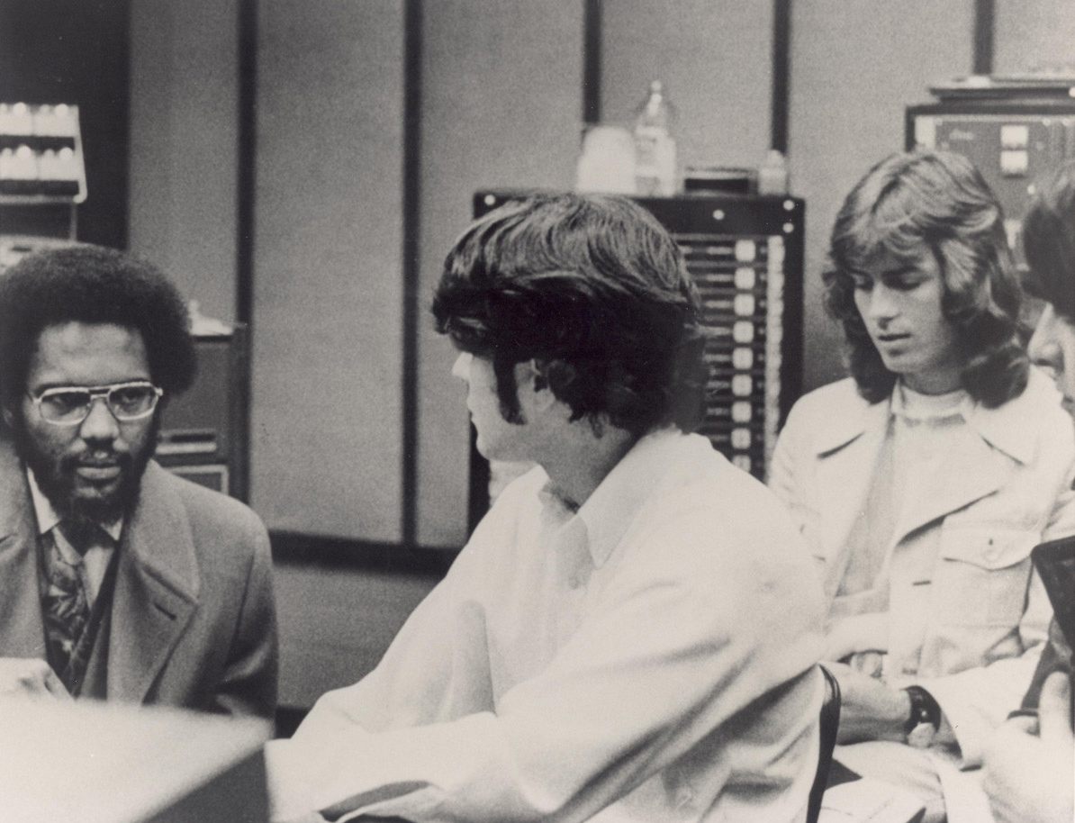 Ardent, 1971 - Al Bell (co-owner of Stax), John Fry, Jody Stephens, and Andy Hummel
