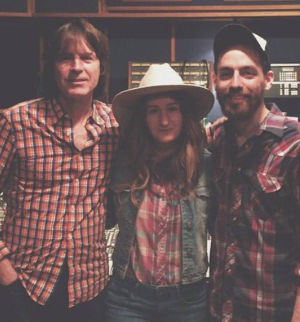 Ardent Studio B - Jody Stephens, Margo Price, and Matt Ross-Spang (mix engineer)