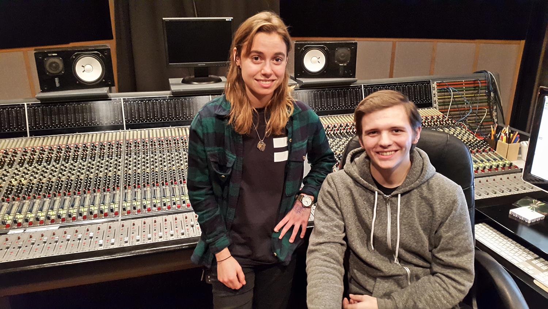 Studio A - Julien Baker with engineer Calvin Lauber