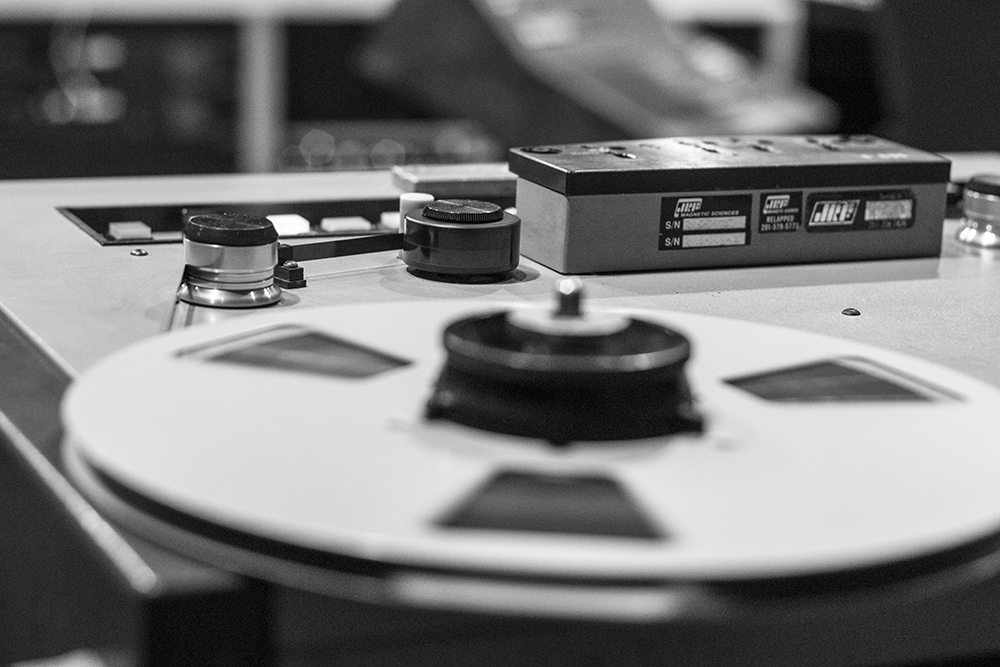 Studio B | Studer Tape Machine ©AddisonHare