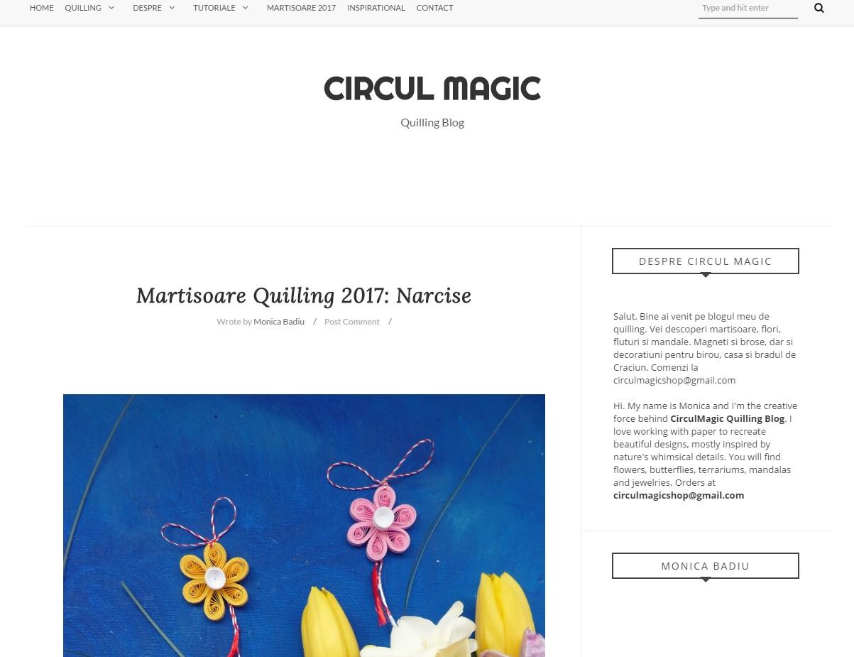 Circul Magic  Homepage