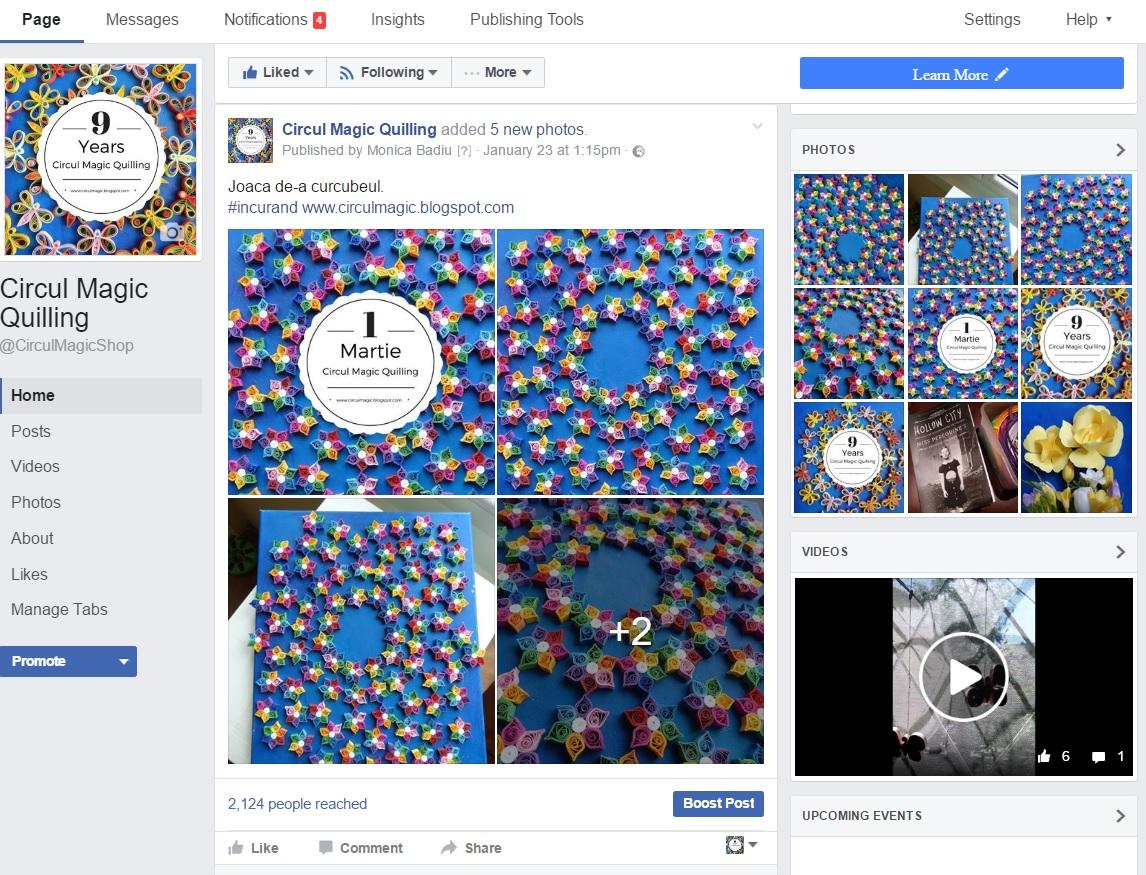 Circul Magic's Facebook Page