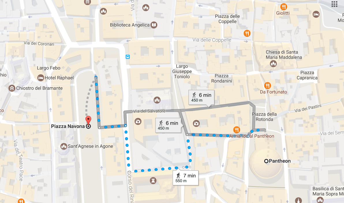 3. From the Pantheon to Piazza Navona