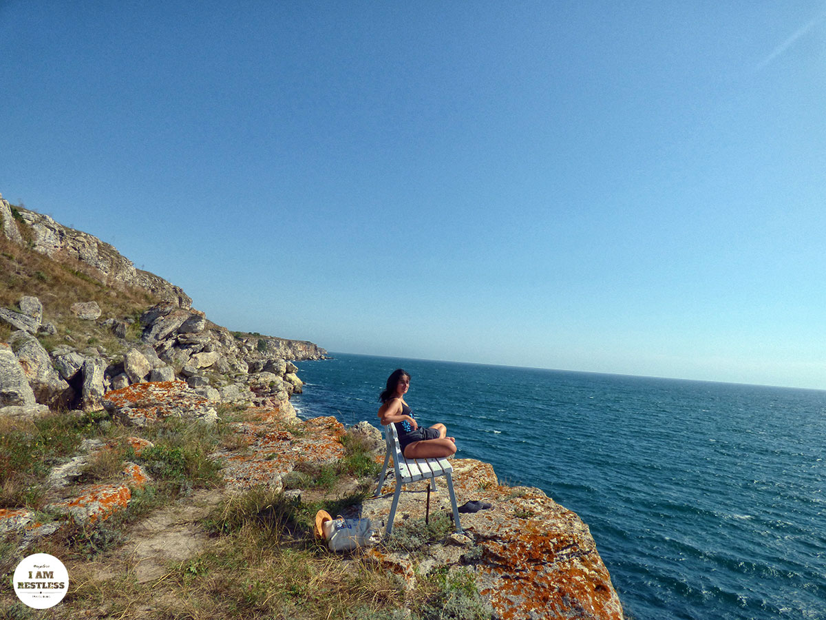 3rd Time Is the Charm: The Bay, Waves & Seashell Fossils in Northern Bulgaria Seaside Tyulenovo Bench