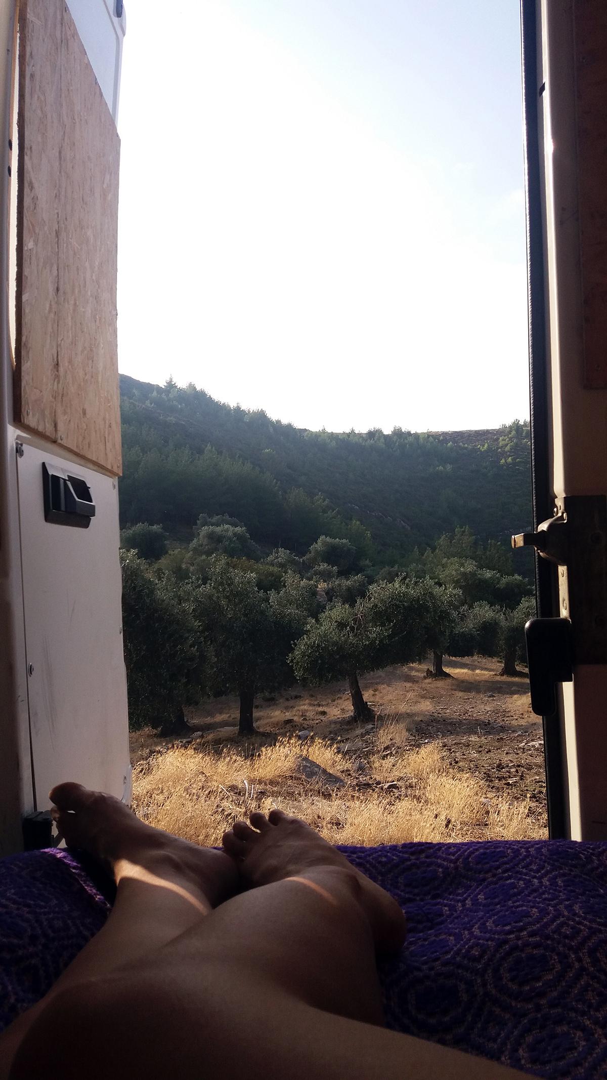 6 Things We Learned from Our First Camper Van Trip in Greece #vanlife #travel #europe #outdoors #nature #van #campervan #greece