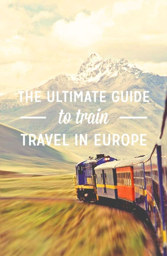 """ Complete Guide To Train Travel In Europe:  Traveling by train is the quintessential method for touring Europe. This guide will help you understand how train travel works and how to do it cheap"""