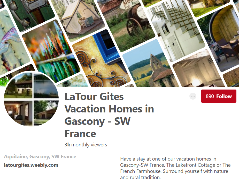 LaTour Gites Vacation Homes in Gascony - SW France