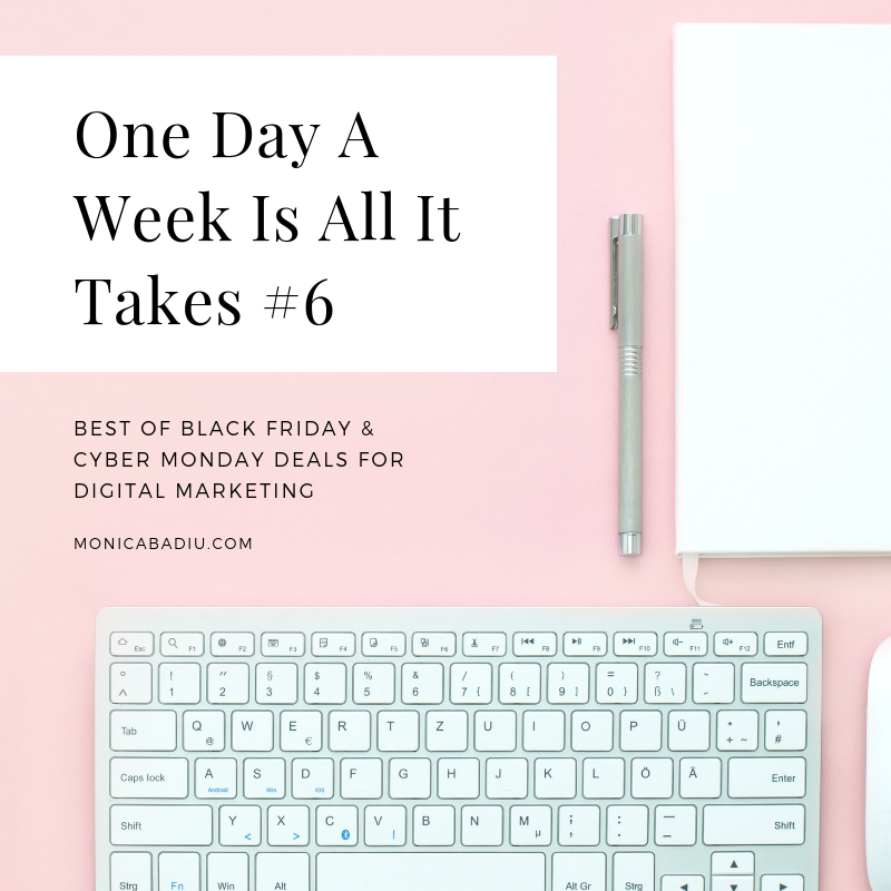 Best Of Black Friday & Cyber Monday Deals For Digital Marketing - See more at www.monicabadiu.com