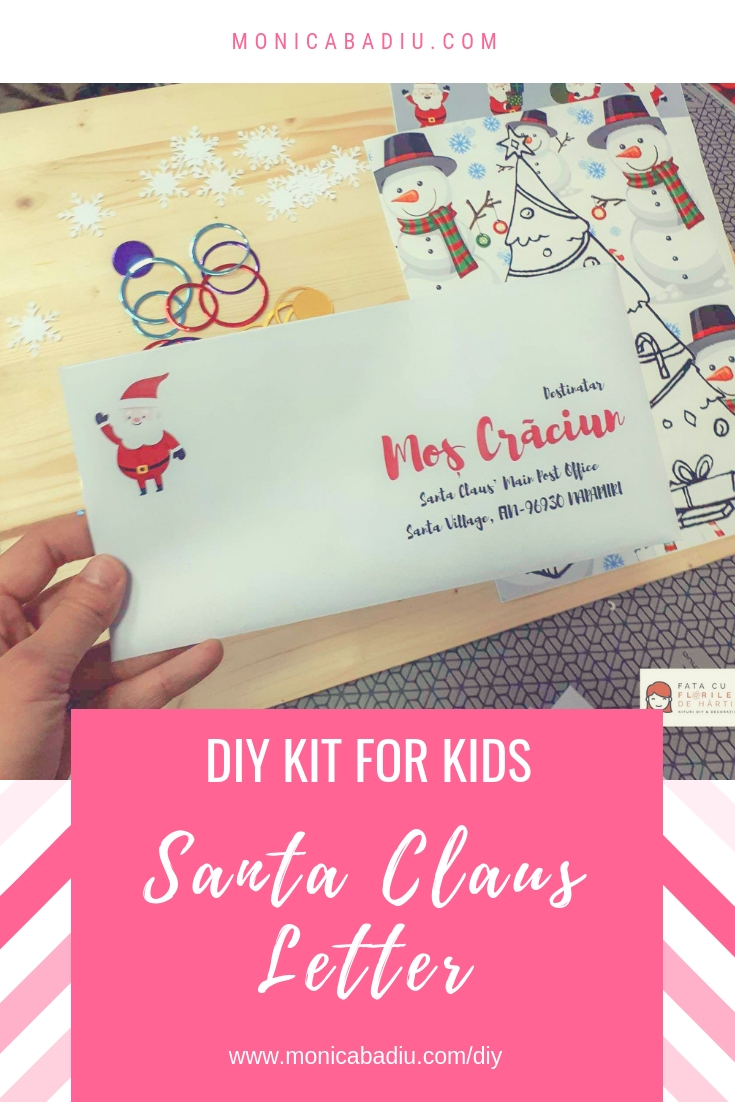 DIY Projects for Kids: Santa Claus Letter - see more at www.monicabadiu.com/diy
