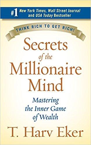 The 9 Books on My Money Mindset Reading List - Secrets of the Millionaire Mind - Full List at www.monicabadiu.com