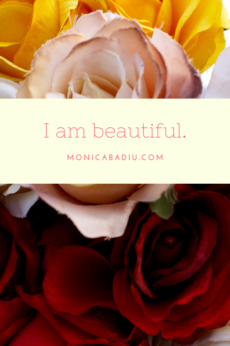 Saturday Morning Affirmation to Build Confidence - Full list at monicabadiu.com #affirmations #mindset #growth #mentalhealth #success #femaleentrepreneur #positivity #productivity