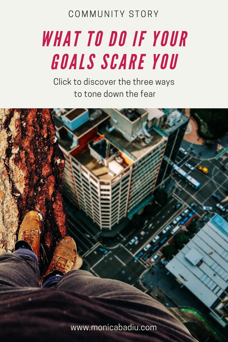 What to do if your goals scare you | Mindset & planning tips to break down your goals #abundance #financials #mindset #mindsetforsuccess #growthmindset #entrepreneurship #motivation #productivity #goalsetting