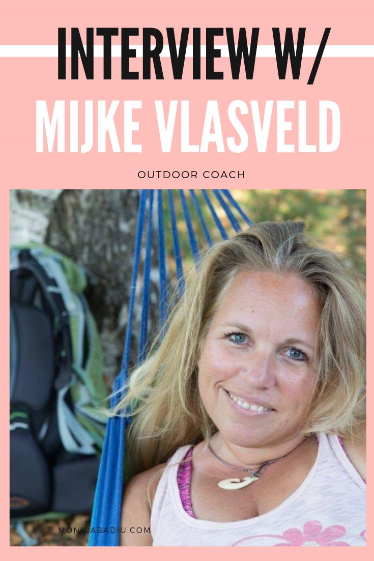 About Mindfulness & Nature Coaching with Mijke Vlasveld, Outdoor Life Coach - via Monica Badiu Visibility Coach #mindfulness #coaching #nature #entrepreneurship #business #femaleentrepreneurs #growthmindset