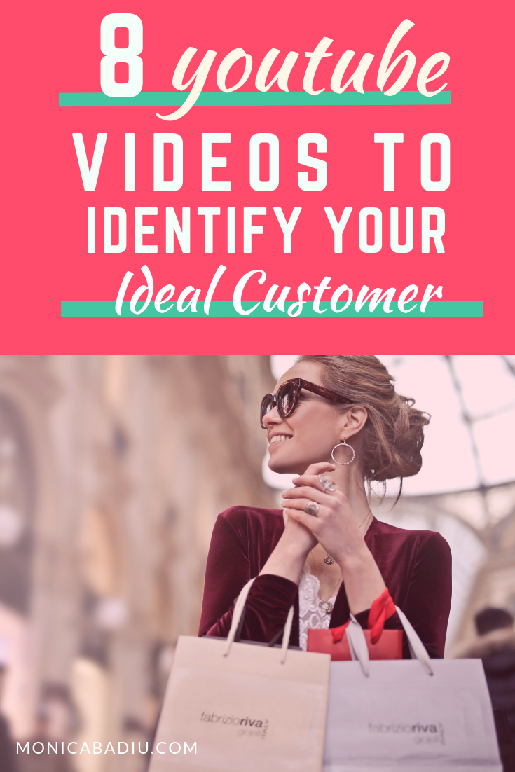 Here are 8 YouTube videos that explain how to identify that ideal client (target market, target customer, target audience) to help you optimize your copy, your website, your ads, and essentially convert more.  #entrepreneurship #marketingtips #clientavatar #marketsegmentation #business #youtube #businesseducation #marketingeducation