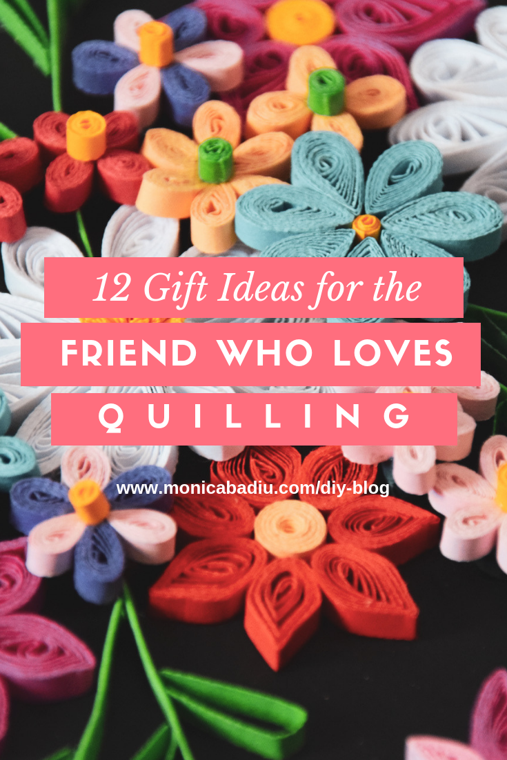 12 Gift Ideas for the Friend Who Loves Quilling #giftguide #creativity #artists #holiday #quilling #paperart #crafters #handmade #imadethis