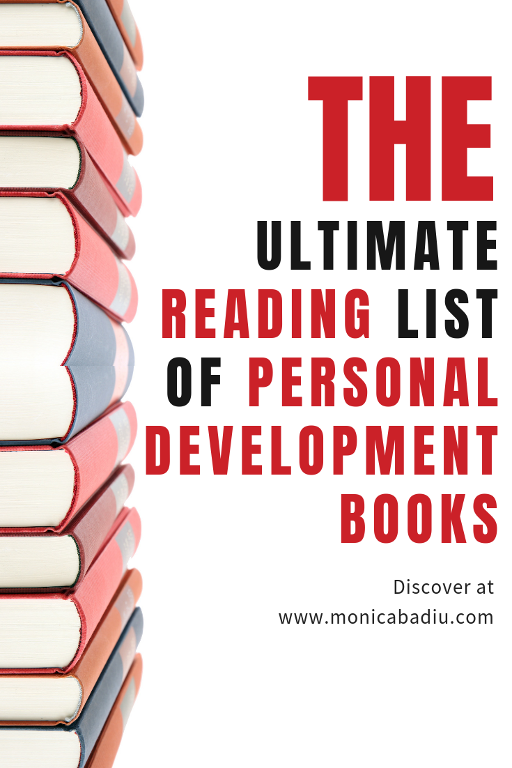The Ultimate Reading List of Personal Development Books   Find your inspiration in over 20 personal growth books #reading #personaldevelopment #growthmindset #positivity #books #readinglist