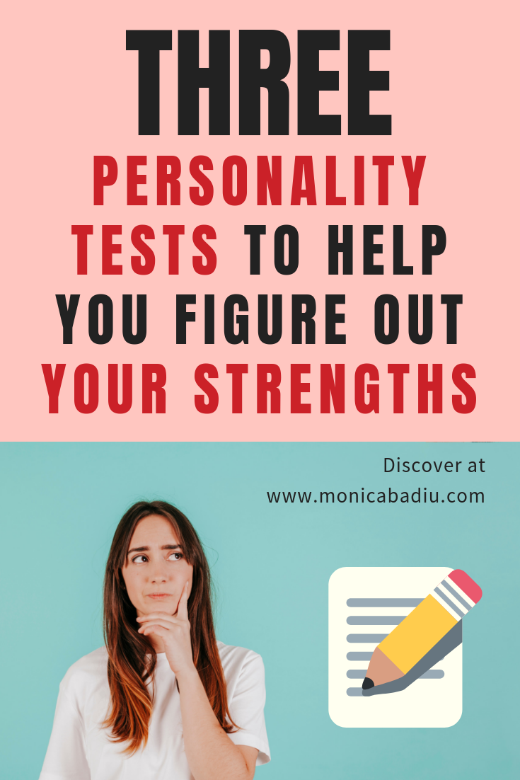 Discover your personal strengths using these 3 personality tests #mindsetforsuccess #personaldevelopment #personality #makingmoney #entrepreneurship