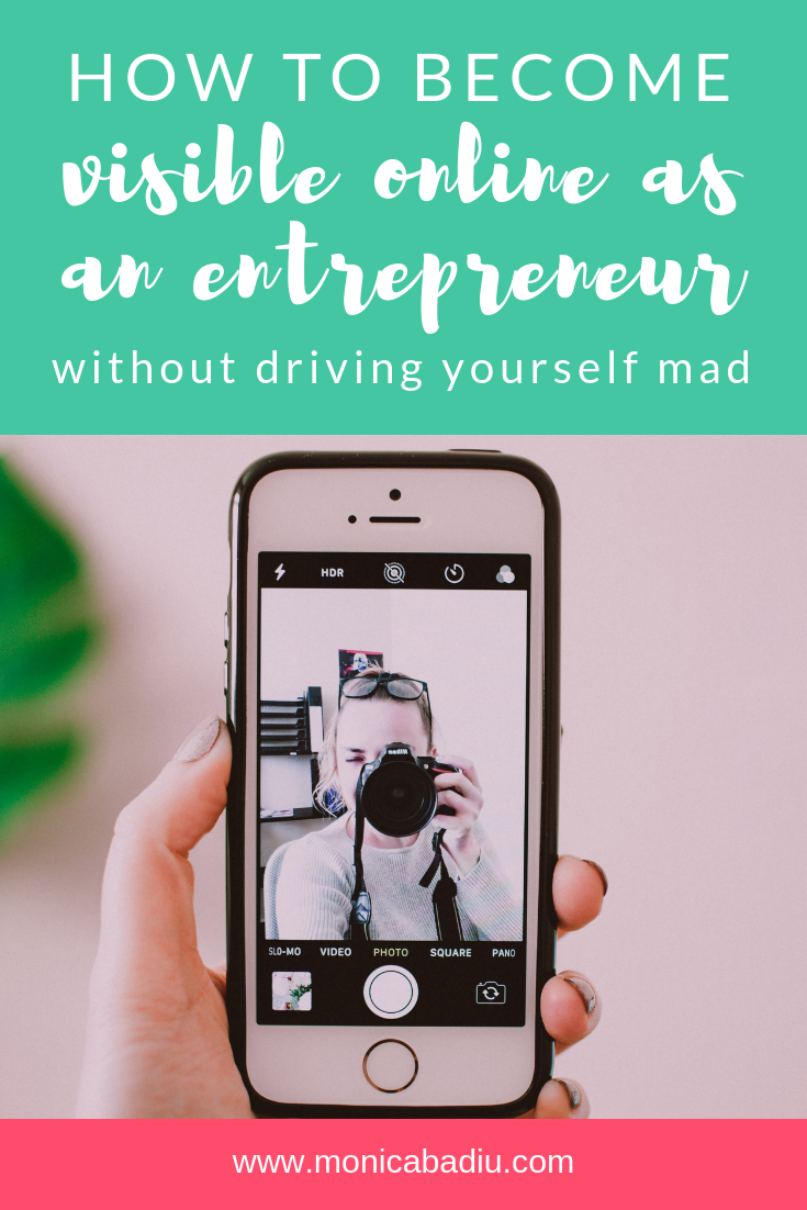 Becoming Visible Online as a New Entrepreneur without Driving Yourself Mad #podcast #entrepreneurship #makingmoney #visibilitytips #visibilitycoach #marketingtips #digitalmarketing #mindset