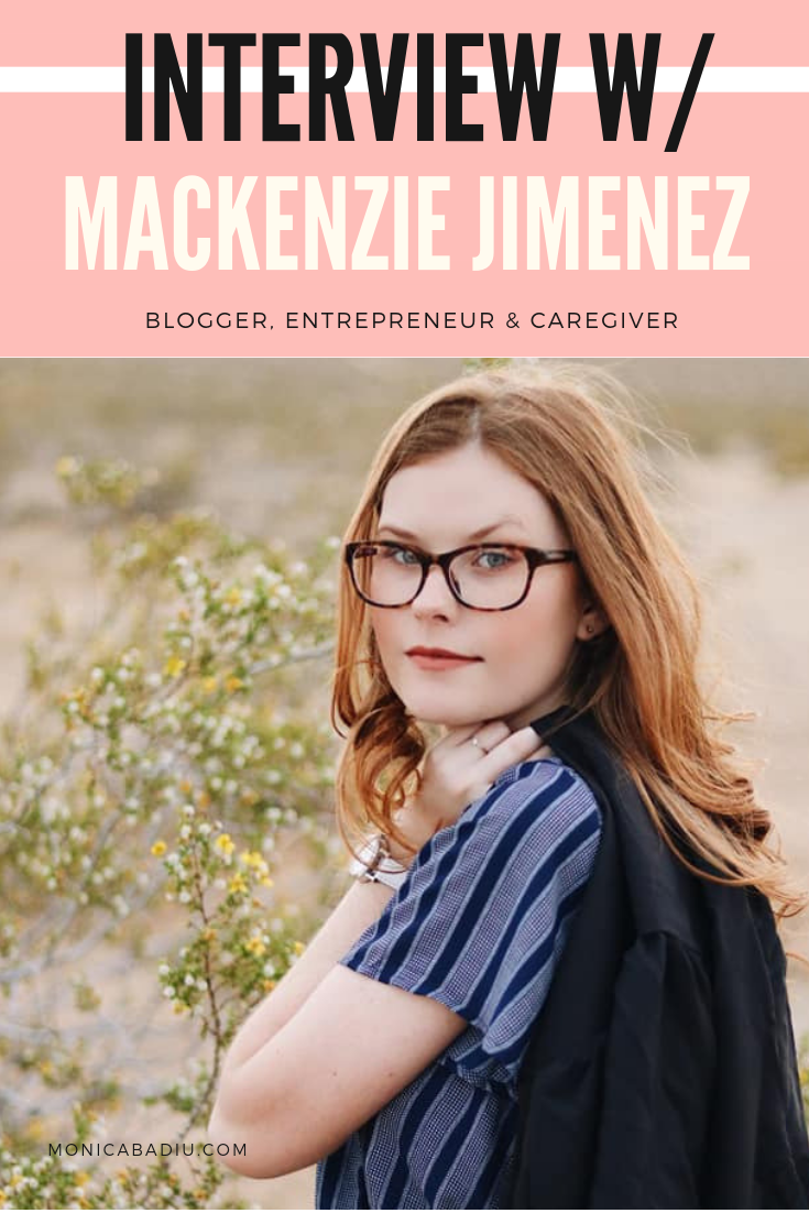 In this Women Rising interview, Mackenzie Jimenez, a go-getter 21-yr old woman, shares her entrepreneurial story about developing the courage to be herself in business and not care what others think. #womeninbusiness #entrepreneurship #quotes #motivation #bossbabe